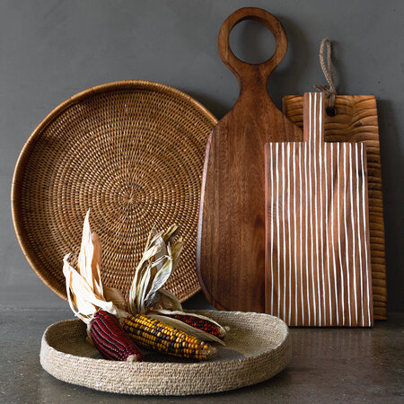 A by AMARA - Round Handle Paddle Platter