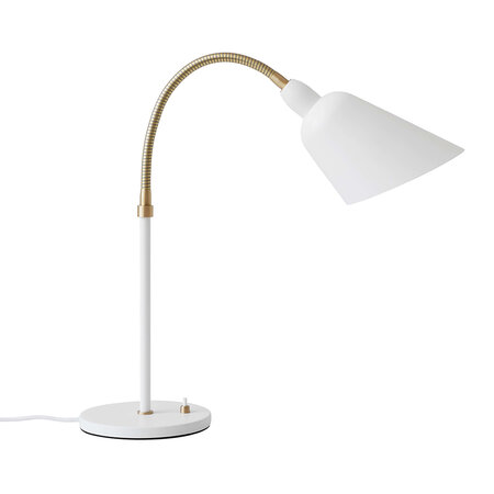 &Tradition - Bellevue Table Lamp - White/Brass