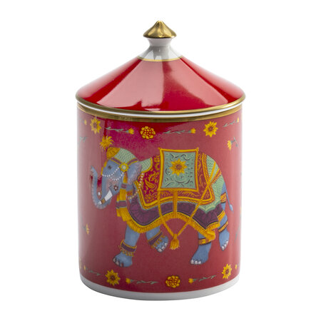 Halcyon Days - Ceremonial Indian Elephant Lidded Candle