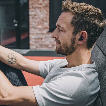 KREAFUNK - aBean Bluetooth Headphones - Black