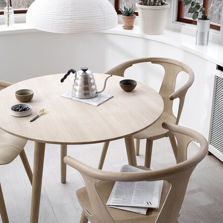 &Tradition - In Between Wooden Chair - SK1 - White