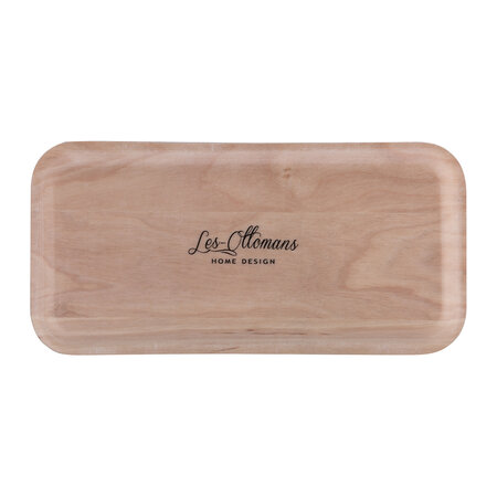 Les Ottomans - Amara Exclusive Wooden Eye Tray - Red