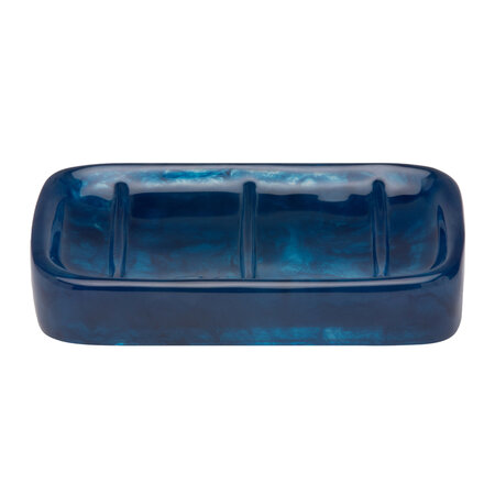 Pigeon and Poodle - Abiko Soap Dish - Cobalt