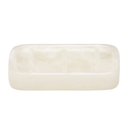 Pigeon and Poodle - Abiko Soap Dish - Pearl White
