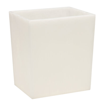Pigeon and Poodle - Abiko Wastebasket - Pearl White