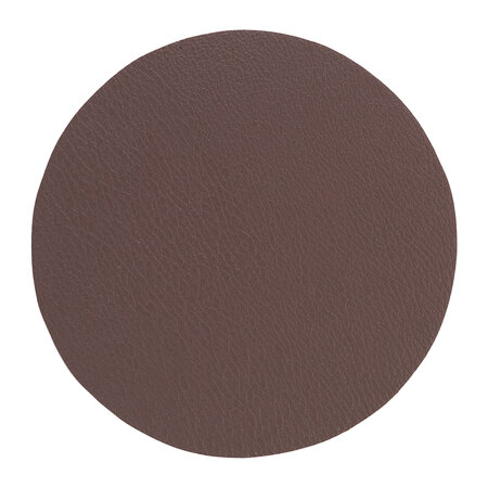 Essentials - Double Sided Vegan Leather Coasters - Set of 4 - Brown