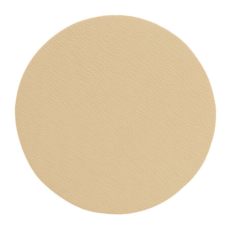 Essentials - Double Sided Vegan Leather Coasters - Set of 4 - Sand