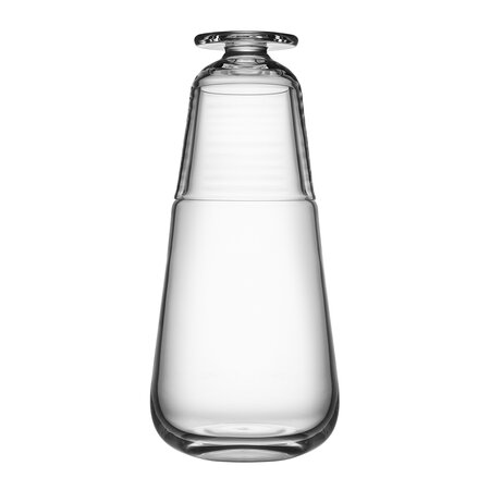 Orrefors Kosta Boda - Viva Carafe with Small Glass - Clear