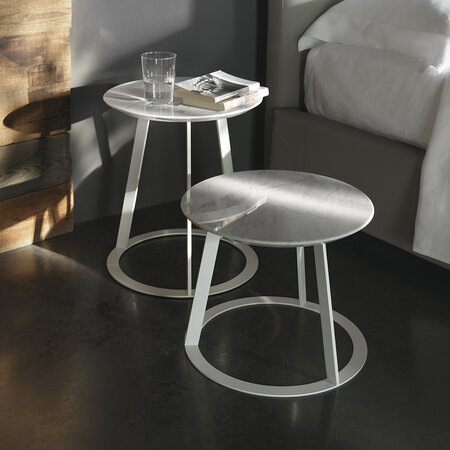 Horm & Casamania - Albino Family Side Table - 45cm - White