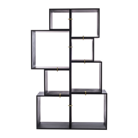 Seletti - Assemblage 888 Lacquered Wooden Modules - Anthracite