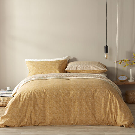 Christy - Bethany Duvet Set - Ochre - King