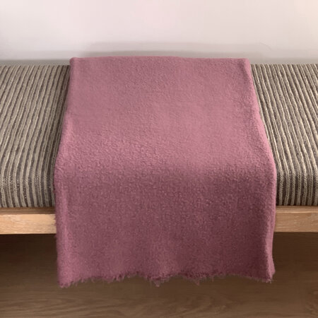 André Fu Living - Amarone Blanket - Dusty Pink