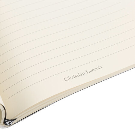 Christian Lacroix - Paseo Embossed B5 Notebook - Black