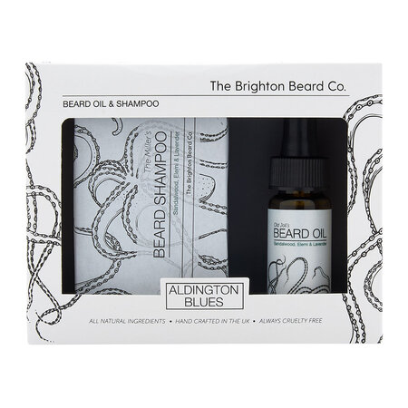 The Brighton Beard Company - Aldingtons Blue's Beard Care Gift Set