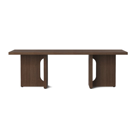 MENU - Androgyne Lounge Table - Dark Stained Oak