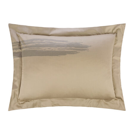 André Fu Living - Artisan Brush Pair Of Pillowcases - Dusty Bronze - 50x70cm