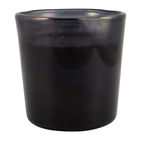 Luxe - Black Spectrum Glass Scented Candle - Large