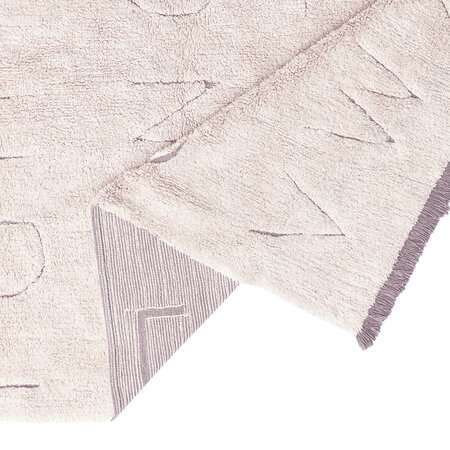 Lorena Canals - ABC RugCycled Washable Rug - Grey - 140x200cm