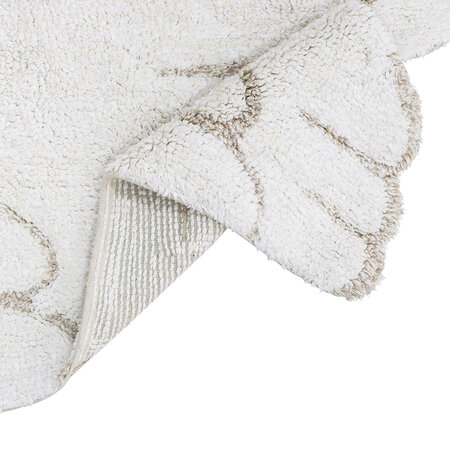 Lorena Canals - Wings Washable Mini Rug - Ivory - 75x100cm