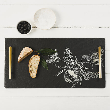 The Just Slate Company - Bee Serving Tray - Large