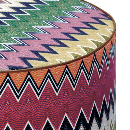 Missoni Home - Togo Cylindrical Pouf - 100
