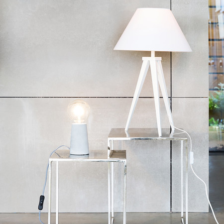 A by Amara - Concrete Table Lamp