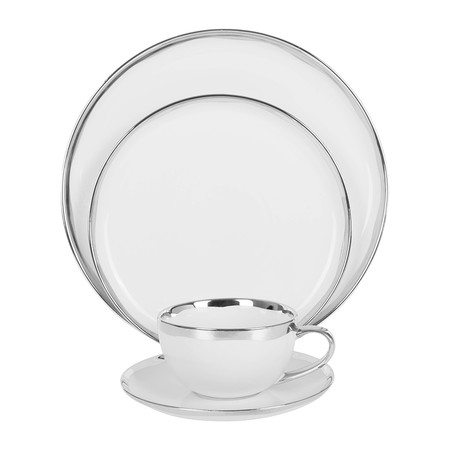 Canvas Home - Dauville Side Plate - Platinum