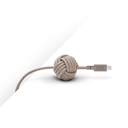 Native Union - Ultra Lightning Night Cable - Taupe