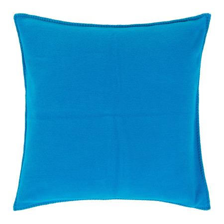 Zoeppritz - Soft Fleece Pillow - 50x50cm - Atlantic Blue