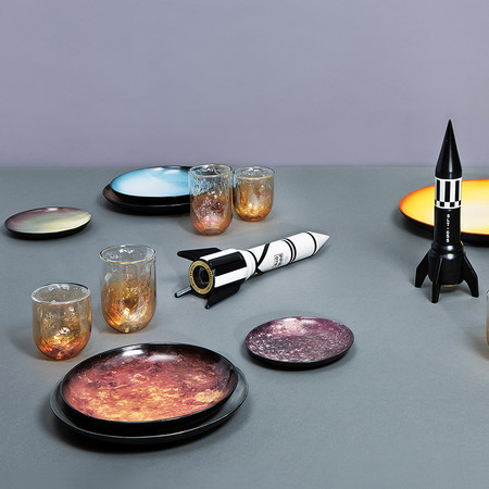 Diesel Living with Seletti - Cosmic Plate - 16.5cm - Saturn