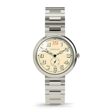 Newgate Clocks - Liberty Watch Arabic Dial - Stainless Steel