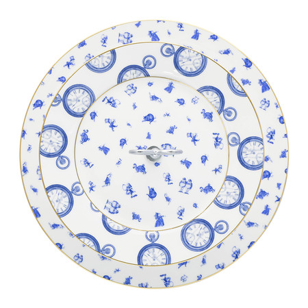 Mrs Moore's Vintage Store - Alice Chintz 2-Tier Cake Stand - White