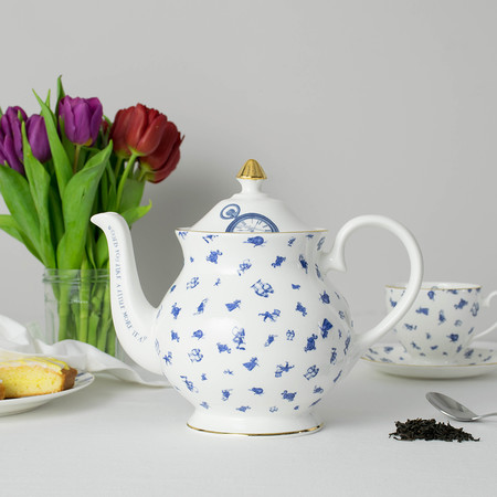 Mrs Moore's Vintage Store - Alice Chintz Teapot - White