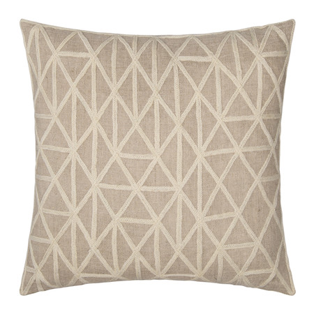Niki Jones - Berber Pillow - 50x50cm - Ecru & Natural