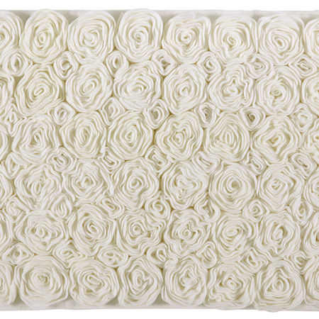 Aquanova - Rose Bath Mat - Ivory - 60x100cm