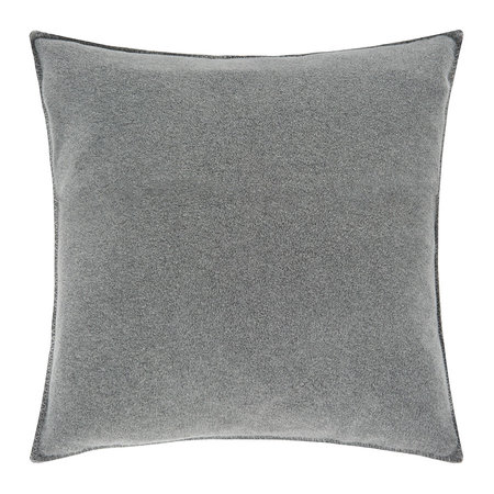 Zoeppritz since 1828 - Soft Fleece Pillow - 50x50cm - Medium Gray