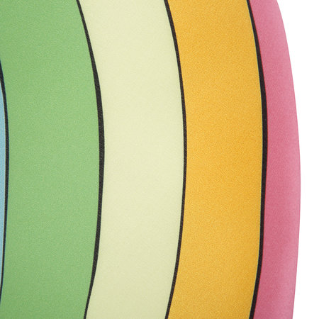 Silken Favours - Rainbow Pillow