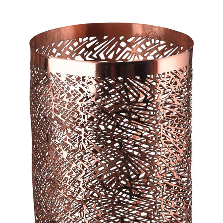 Pols Potten - Pierced Candle Holder - Copper - Large