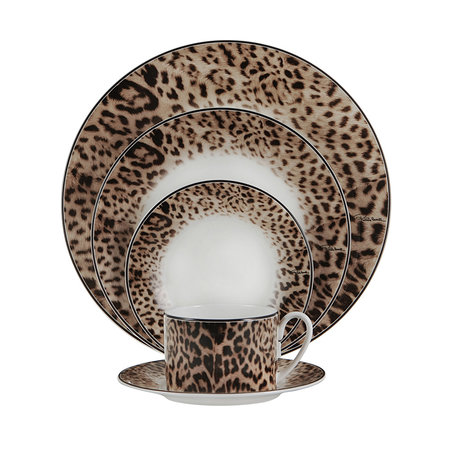 Roberto Cavalli - Jaguar Dinner Plates - Set of 6