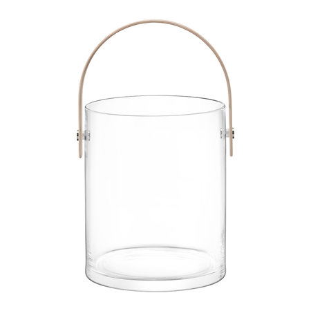 LSA International - Circle Container & Ash Handle - Clear - 33.5cm