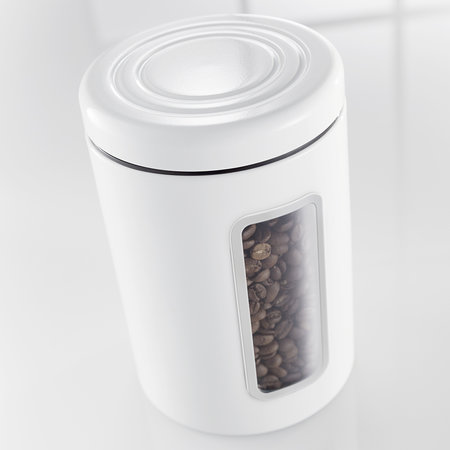 Wesco - Classic Line Canister with Window - 2L - White