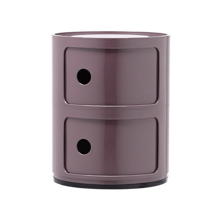 Kartell - Componibili Storage Unit - Purple - Small