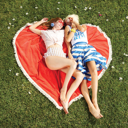 ban.do - All Around Giant Heart Towel