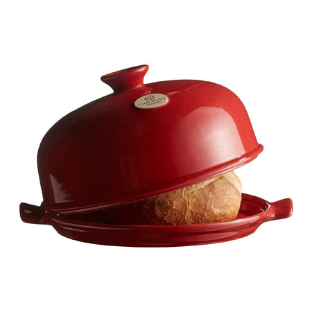 Emile Henry - Bread Cloche - Red