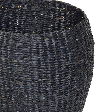 Broste Copenhagen - Oliver Seagrass Basket - Set of 3 - Black