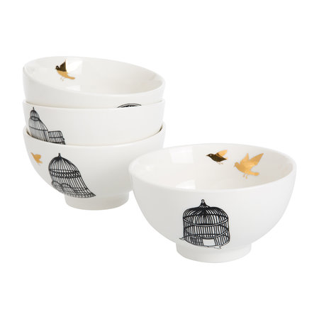 Pols Potten - Freedom Birds Bowl - Set of 4