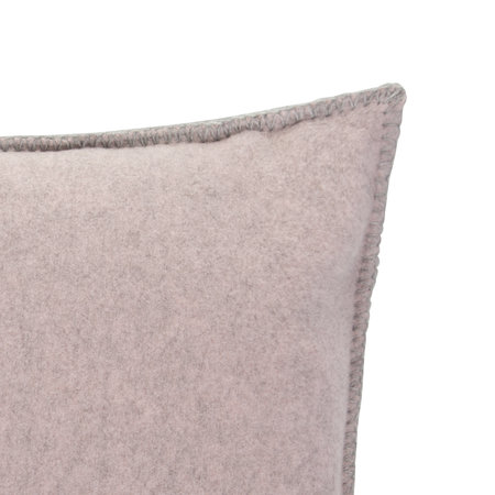 Zoeppritz since 1828 - Soft Wool Bed Cushion - 30x50cm - Rose