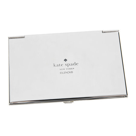 Buy kate spade new york silver street lets do lunch business card next colourmoves