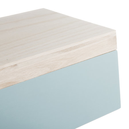 Bloomingville - Mint/Gray Storage Boxes - Set of 4
