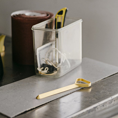 HAY - 'Cap' Bottle Opener - Slim - Gold